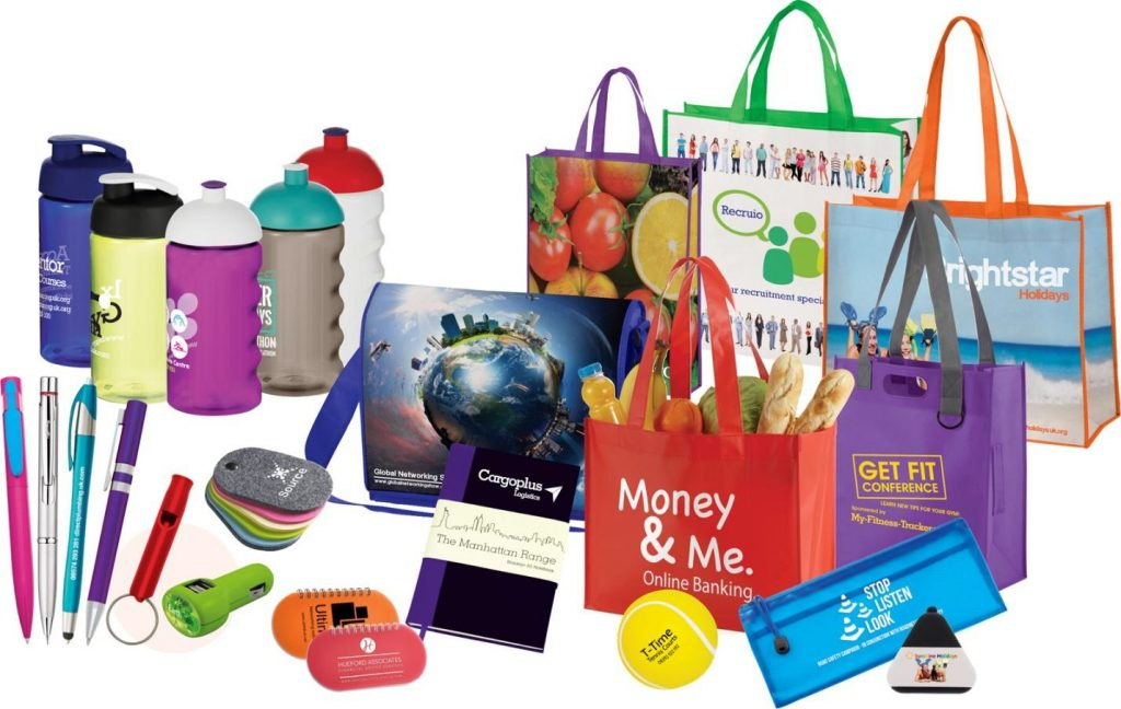 Promotional items from internet suppliers